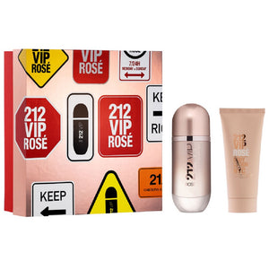 Set 212 Vip Rose Dama Carolina Herrera 2 pz (80 ml edp + 100 ml body lotion) | PriceOnLine