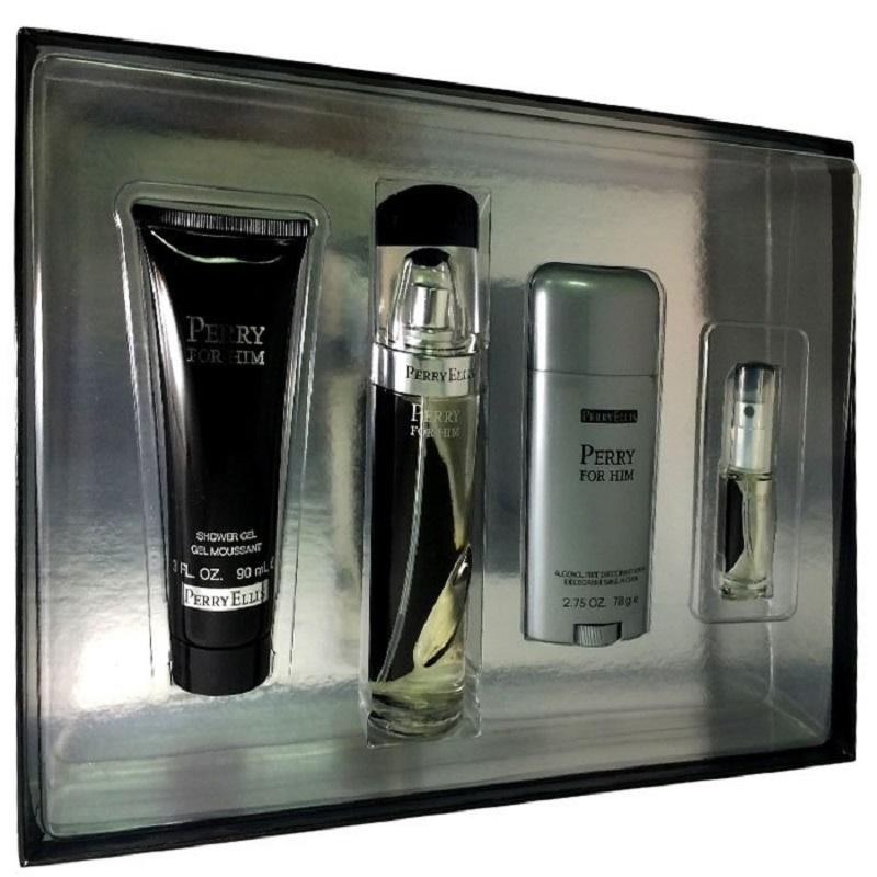 Set Perry For Him Caballero Perry Ellis 4 Pz | PriceOnLine