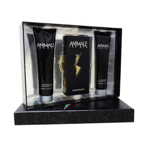 Set Animale Caballero Animale 3 pz (100 ml edt + 100 ml after shave + 100 ml body wash) | PriceOnLine