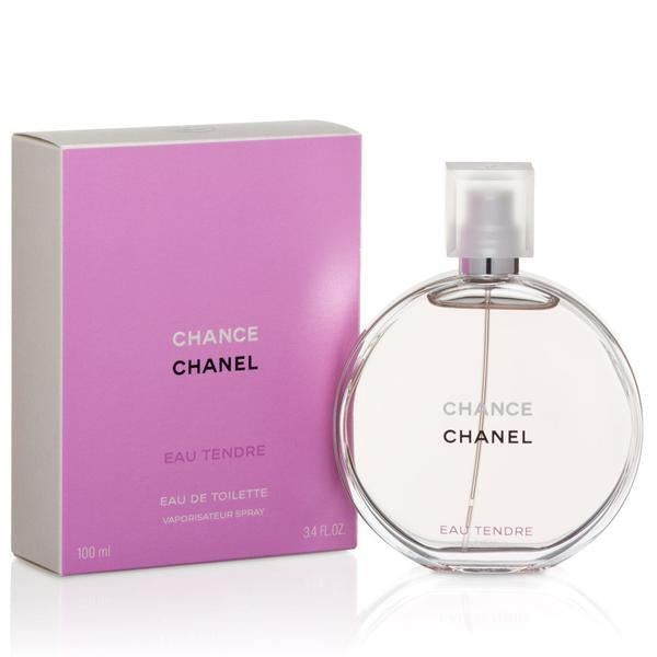 Chance Eau Tendre Dama Chanel 100 ml Edt Spray - PriceOnLine