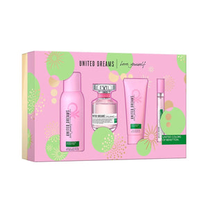 Set United Dreams Love Yourself Dama Benetton 4 Pz | PriceOnLine