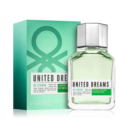 United Dreams Be Strong Caballero Benetton 100 ml Edt Spray