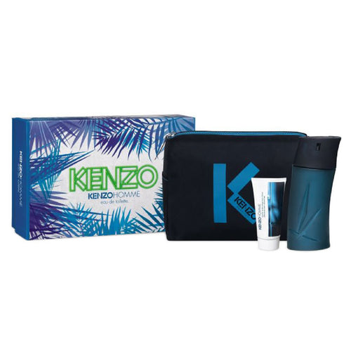 Set Kenzo Homme Caballero Kenzo 3 pz (100 ml edt + 50 ml after shave + neceser) | PriceOnLine