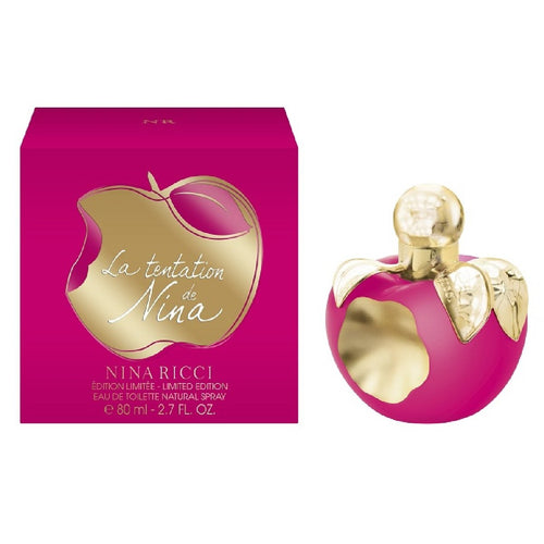 La Tentation de Nina Dama Nina Ricci 80 ml Edt Spray | PriceOnLine