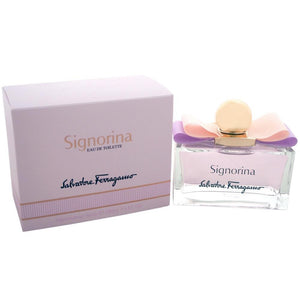 Signorina Dama Salvatore Ferragamo 100 ml Edt Spray - PriceOnLine