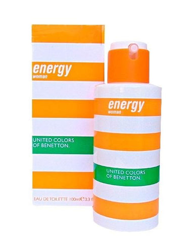 Energy Woman Dama Benetton 100 ml Edt Spray | PriceOnLine