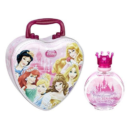 Set Lonchera Magnificent Beauties Niña Disney 2 pz (Lonchera + Perfume 100 ml Edt) | PriceOnLine