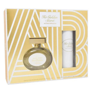 Set Her Golden Secret Dama Antonio Banderas 2 Pz | PriceOnLine