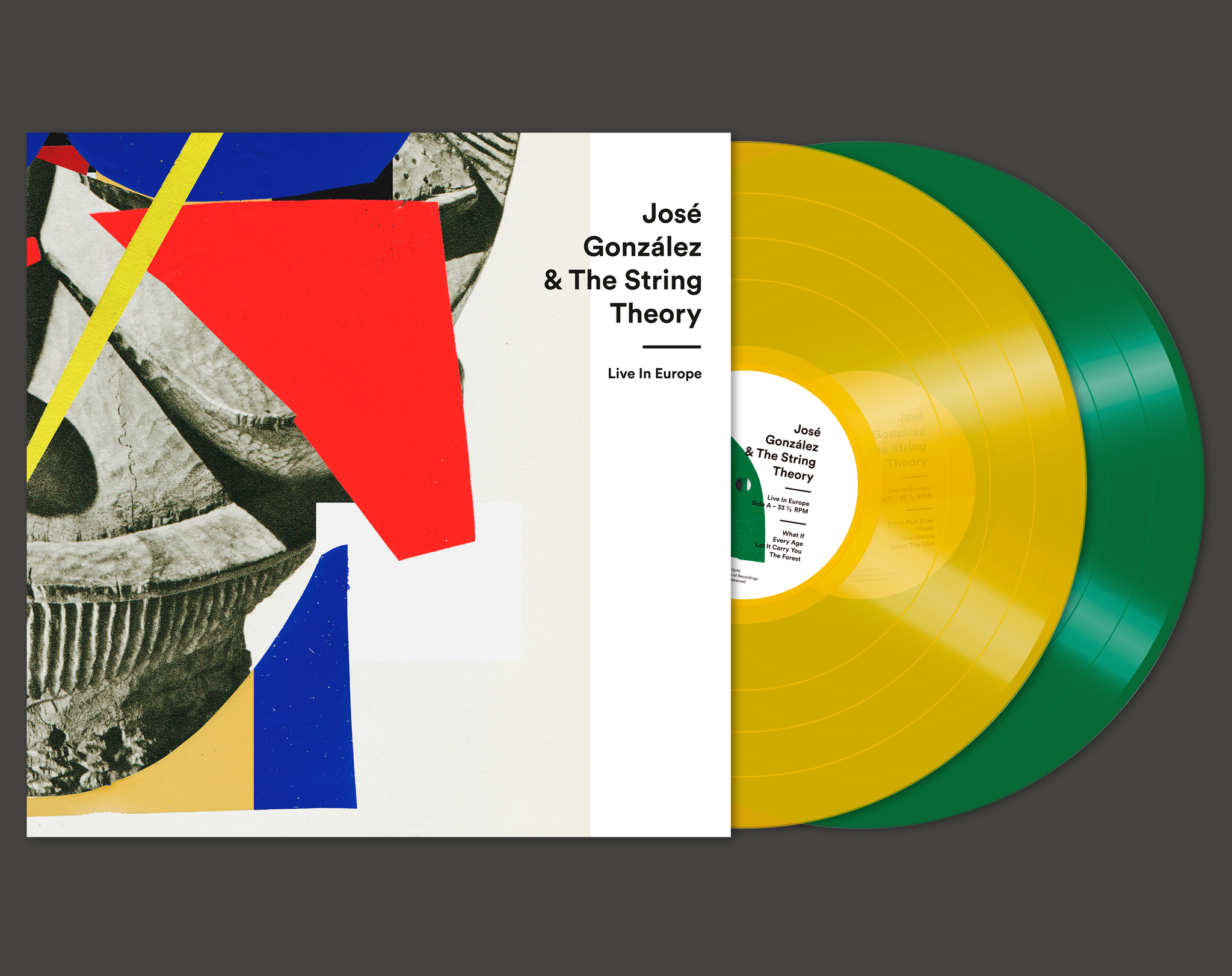 JOSÈ GONZÀLEZ & THE STRING THEORY LIVE IN EUROPE VINYL BOXSET LIMITED EDITION