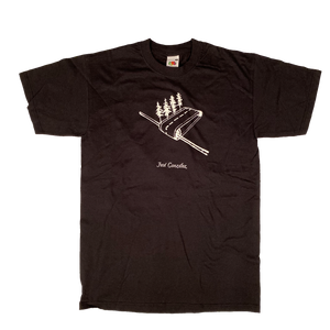 Forest Road T-shirt Black