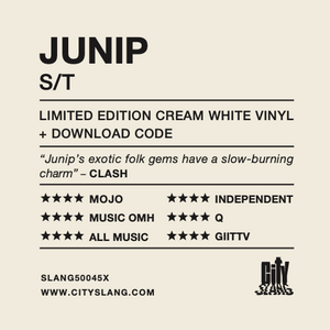 JUNIP - S/T LP (LIMITED EDITION CREAM WHITE VINYL) + DOWNLOAD CODE