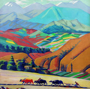 Armenia Landscape Oil Painting | Wall Art on Canvas | le d'ARTe - le d'Arte - hand painted artwork modern original