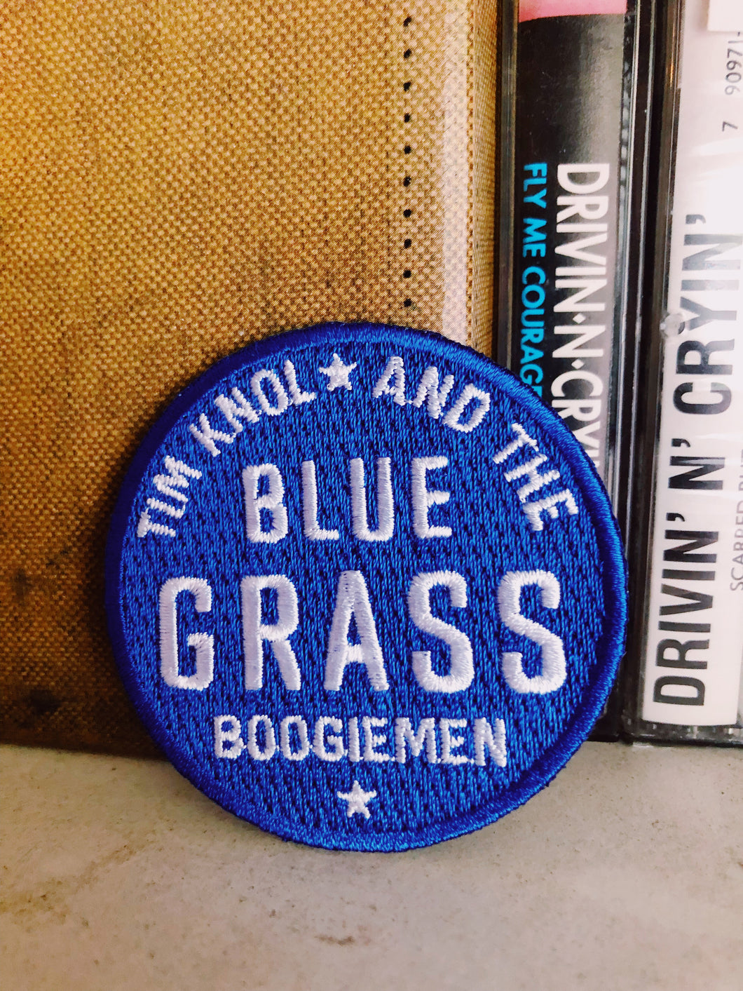 Patch Tim Knol & The Blue Grass Boogiemen