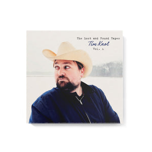 Tim Knol - The Lost and Found Tapes VOL. 1 CD