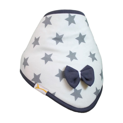 Grey & White Stars Cutie Collar