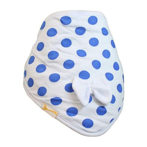 White & Blue Spots Cutie Collar