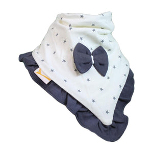 White & Grey Stars Cutie Collar