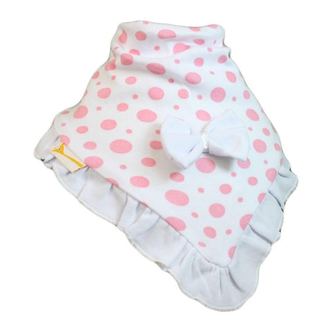 White & Light Pink Spots Cutie Collar