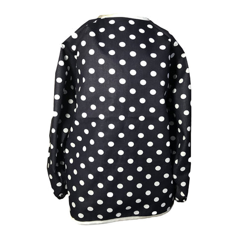 Dark Navy Spotty Messy Apron