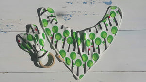 Tree Bib & Teething Ring Set