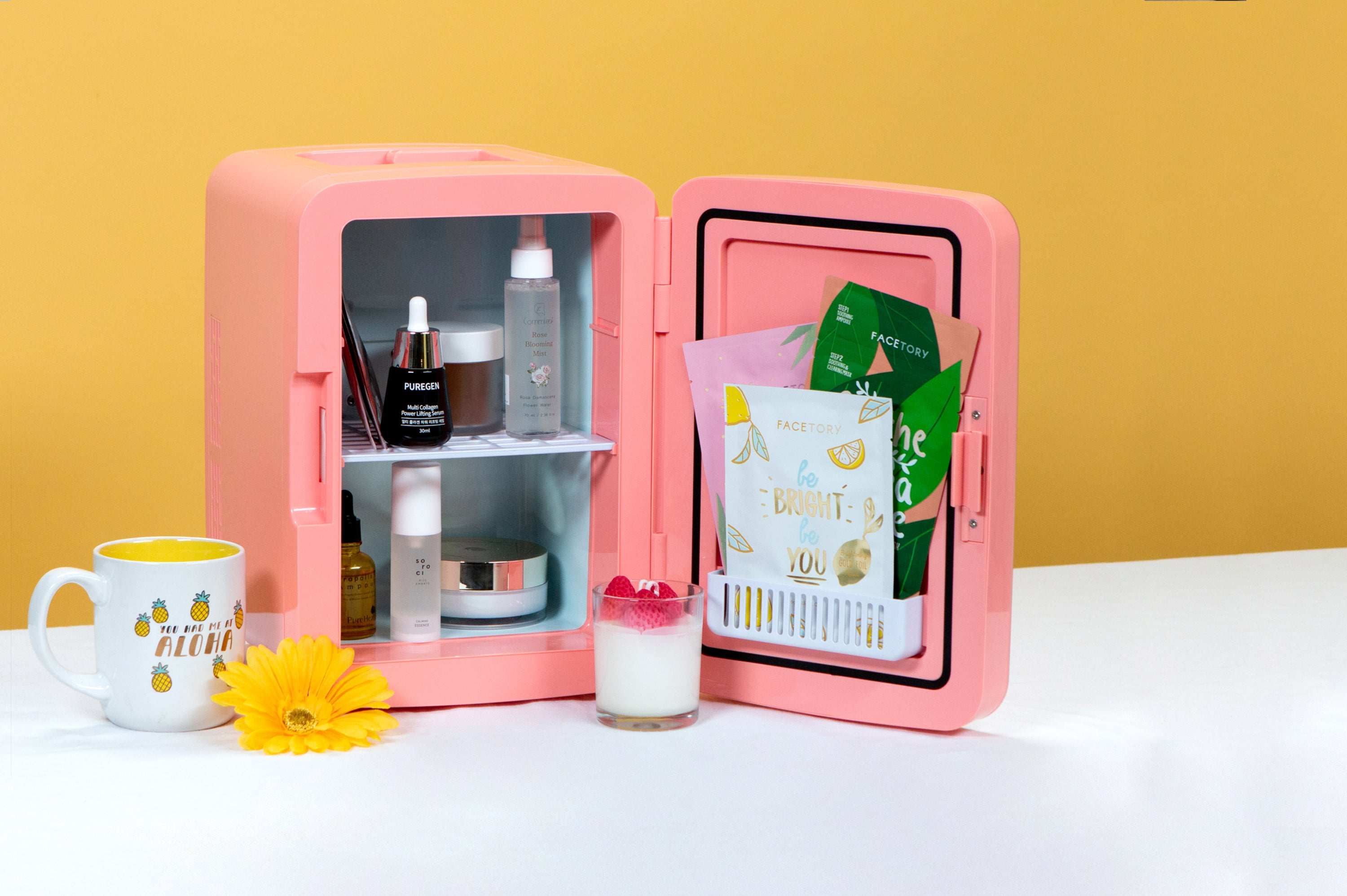Does Your Beauty Routine Need Its Own Refrigerator?