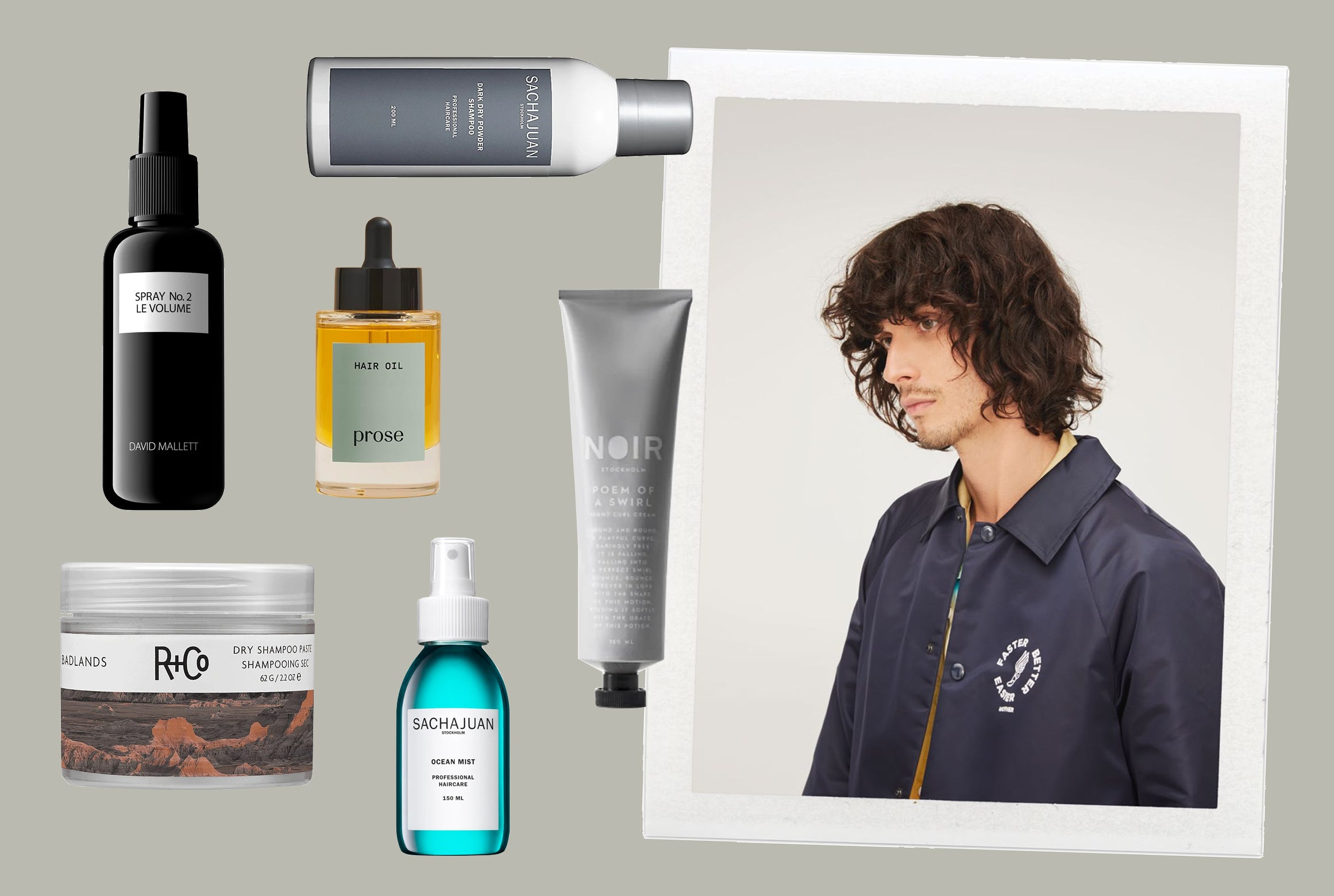 Dritan Vushaj's Favorite Styling Products for Spring