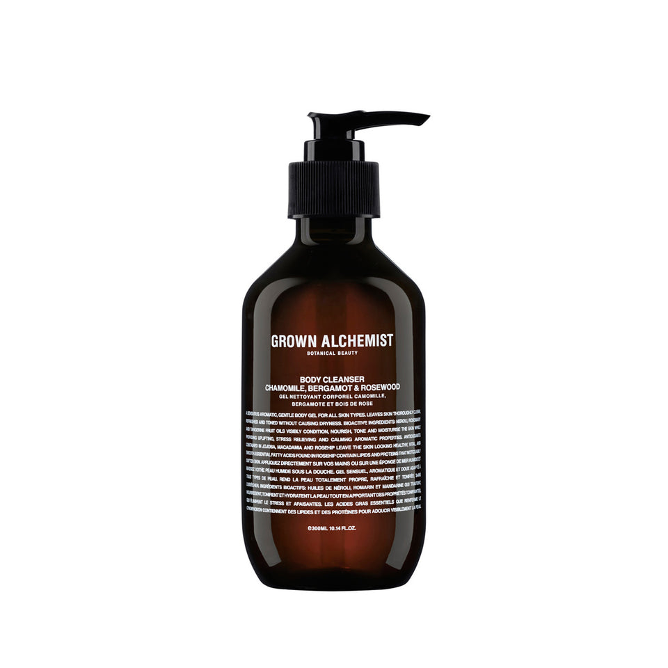 Body Cleanser: Chamomile, Bergamot, and Rosewood