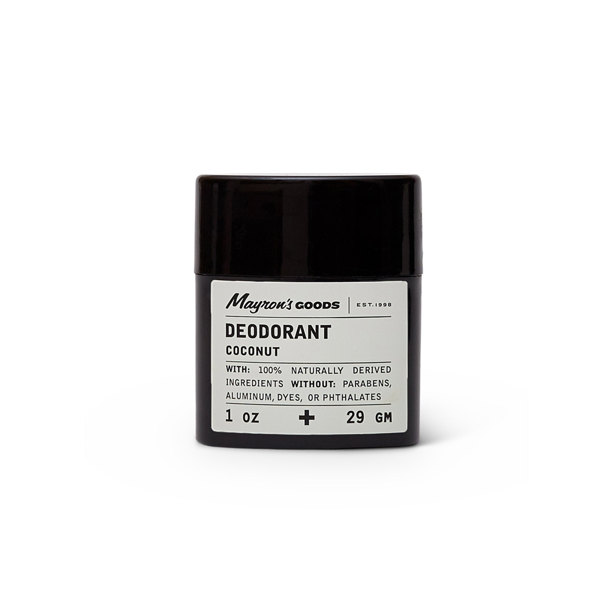 Natural Coconut Deodorant