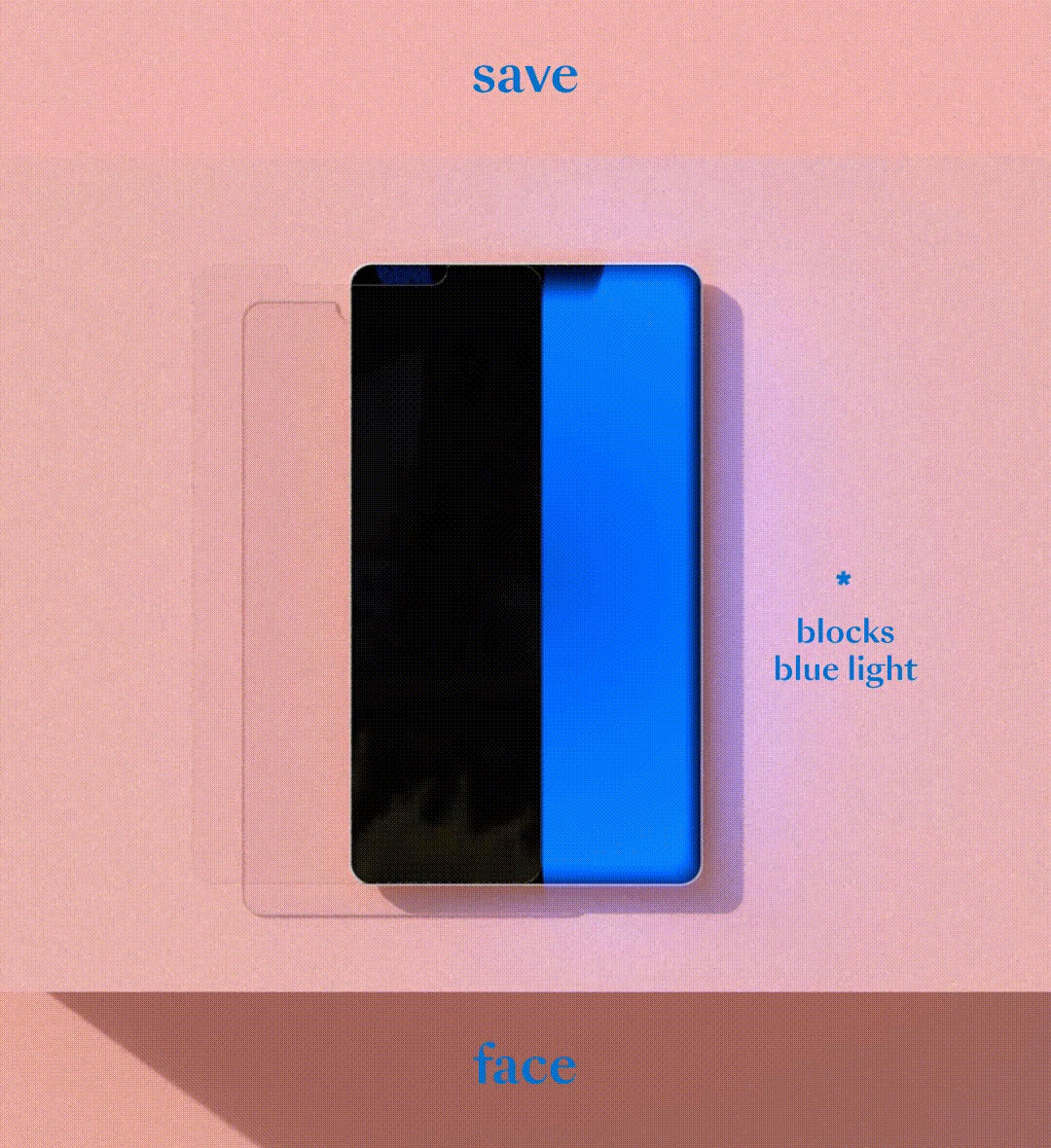Blue Light Blocking IRL Filter - iPhone 11 Pro/X/XS