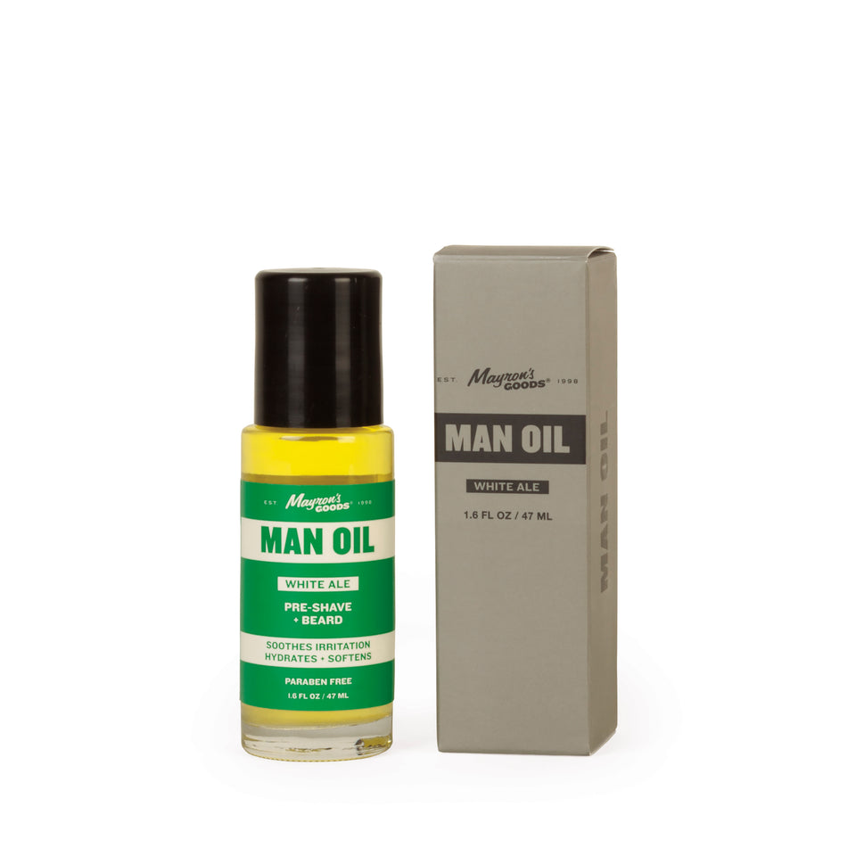 Man Oil: White Ale