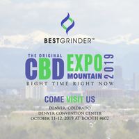 Best Grinder - Original CBD Expo Mountain 2019 (Booth #602)