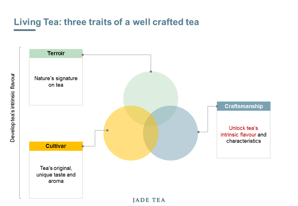Living Tea: three traits of a well crafted tea