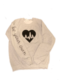 Heart Crew Neck Sweatshirt