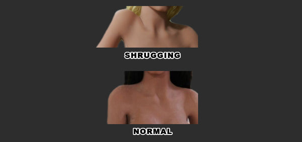 Sex Doll Shrugging Shoulders