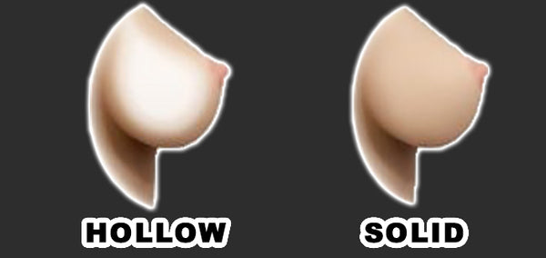 Real Sex Dolls Hollow Breasts vs Solid Breasts