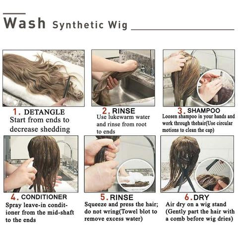 How to Care for a Synthetic Sex Doll Wig
