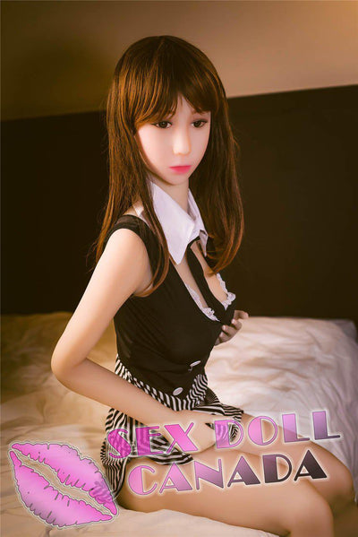 "Real Sex Doll 148 (4'10"") C-CUP HAE - SM Life Size - TPE Doll - SD Canada"