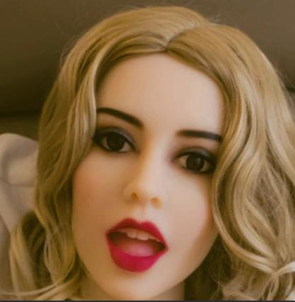 IN-STOCK - Doll Head - WM Head #130
