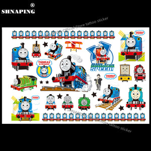 08626d4bdd126 SHNAPIGN Train Thomas Child Temporary Body Art Flash Tattoo Sticker 10*17cm  Waterproof Henna Fake Tatoo car Styling Sticker
