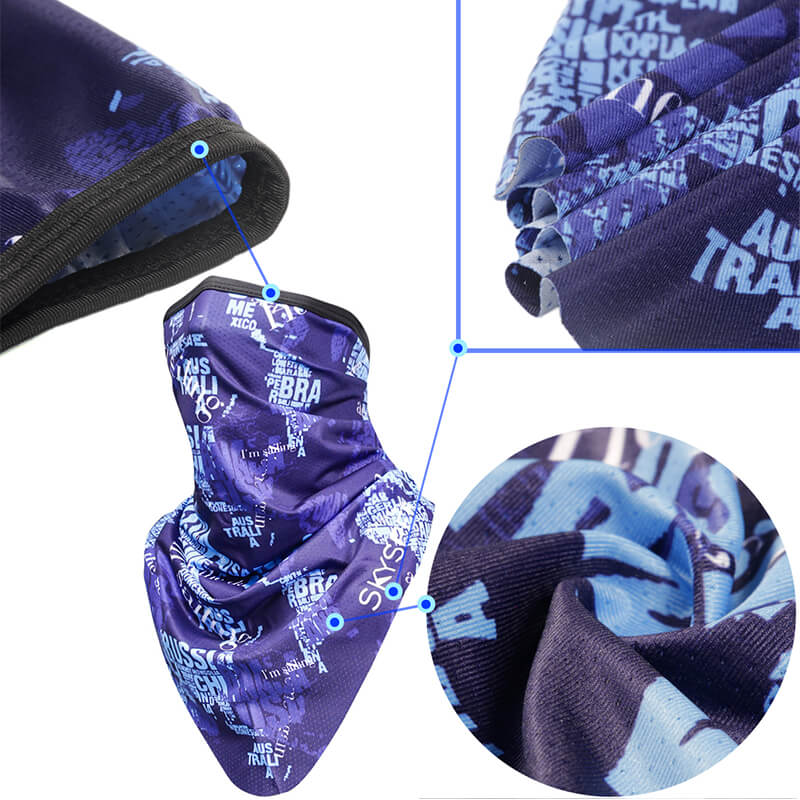 Bandana Head Wrap | Motorcycle Mask | Cycling Bandana Quickly Dry Sun UV Protection