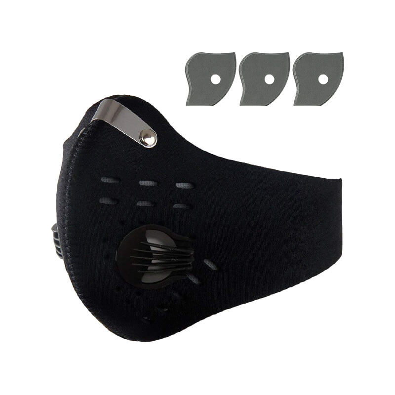 Anti Pollution Mask Men Women Anti PM 2.5 Pollen Dust Mask for Home Depot Mowing Cycling Running Outdoor