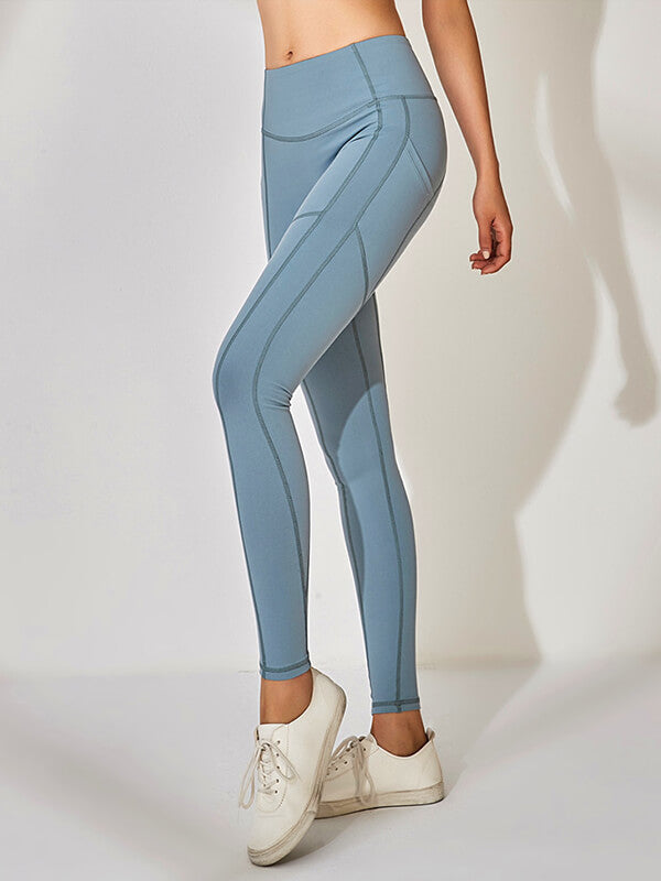 Herringbone Seamless Yoga Leggings