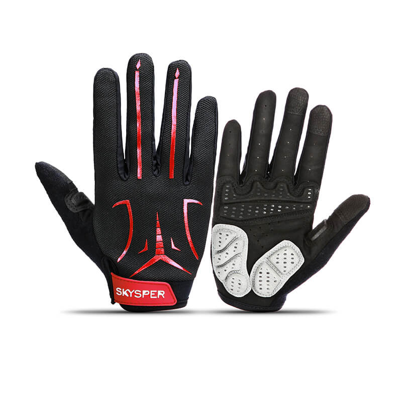 SKYSPER Men's Reflective Ultra Thermal Winter Cycling Bike Gloves - SKYSPER