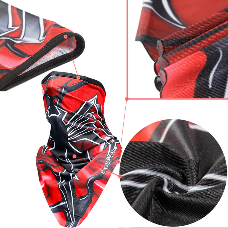 Motorcycle Face Bandanas | Cool Bandanas | Cycling Bandana Quickly Dry Sun UV Protection Helmet Liner