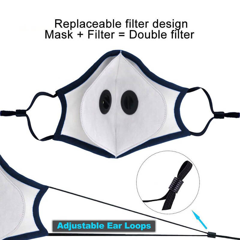 [SUMMER] 2019 Latest Dust Mask N95 Tech  with Replaceable Filters