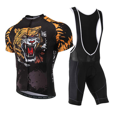 Men's Short Sleeve Kit - Tiger - SKYSPER