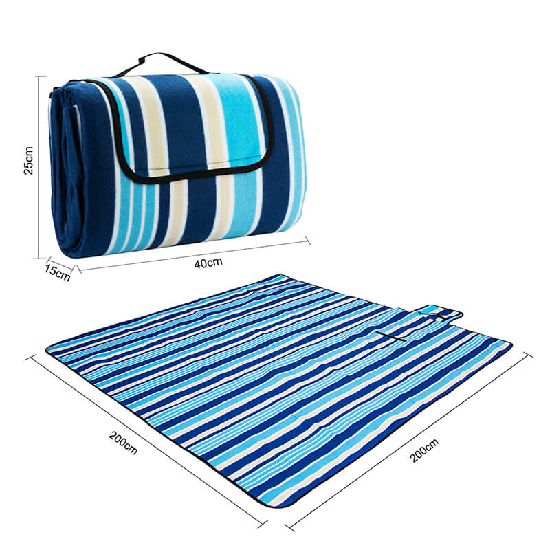Large Picnic Blanket | Picnic Mat | Waterproof Soft Foldable Tote Blanket
