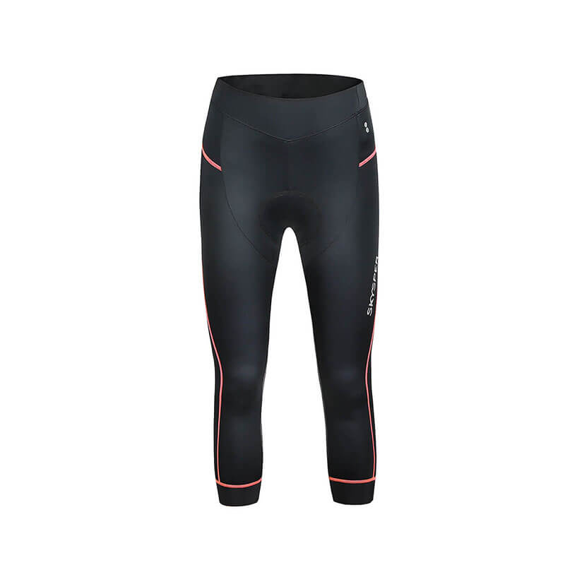 Women's 3d Padded 3/4 Cycling Tights - SKYSPER