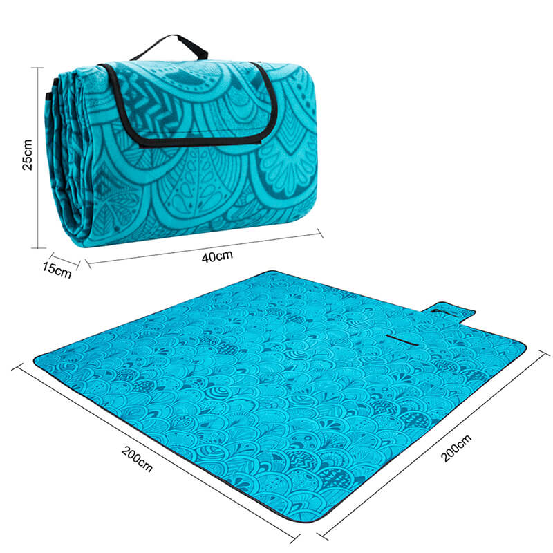 Waterproof Picnic Blanket | Picnic Mat | Soft Foldable Tote Oversized Blanket