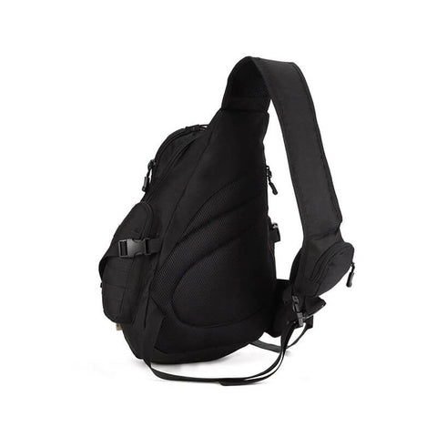 Nylon Single Strap Rucksack One Sling Chest Pack Bag Shoulder Backpack - SKYSPER